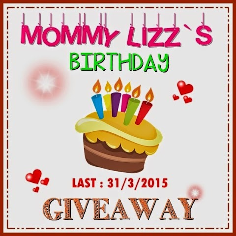 SEGMEN : MOMMY LIZZ`S BIRTHDAY GIVEAWAY