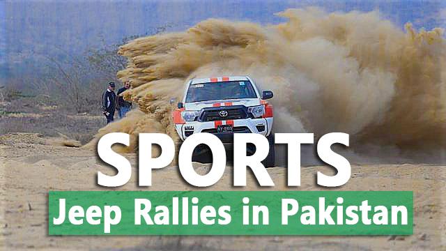 Jeep Rally Sport in Pakistan