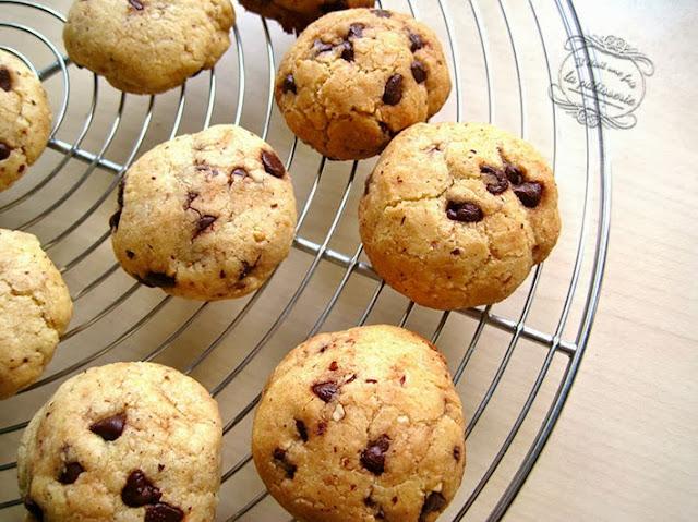 recette biscuits chocolat et noisette