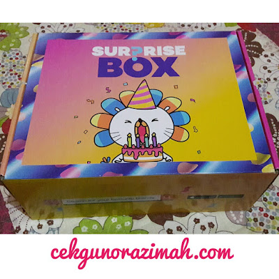 lazada, lazada malaysia, jualan ulang tahun lazada, jualan murah di lazada, kejutan dari Lazada, Lazada surprise box