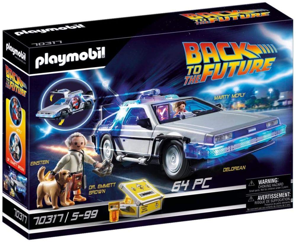 """Лучшая игровая машинка 2021 года DeLorean из фильма """"Назад в будущее"""""""