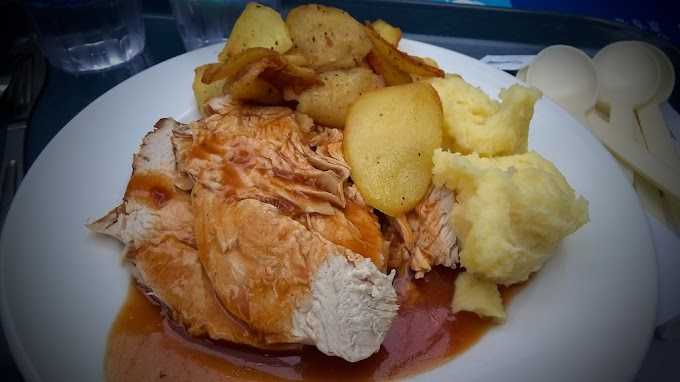 Ginger Turkey and Potatoes
