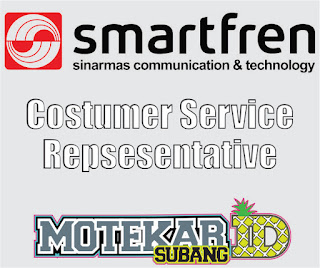 Info Loker (CS) Smartfren Galeri Subang 2019