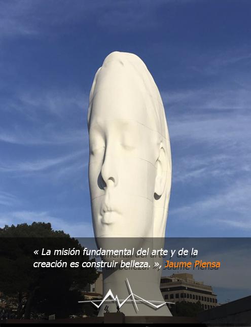 julia-escultura-plensa-madrid-frases-colon-plaza-de
