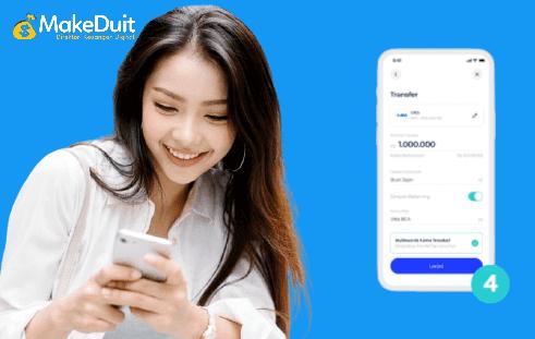 Cara Transfer Uang Ke Sesama Rekening Blu