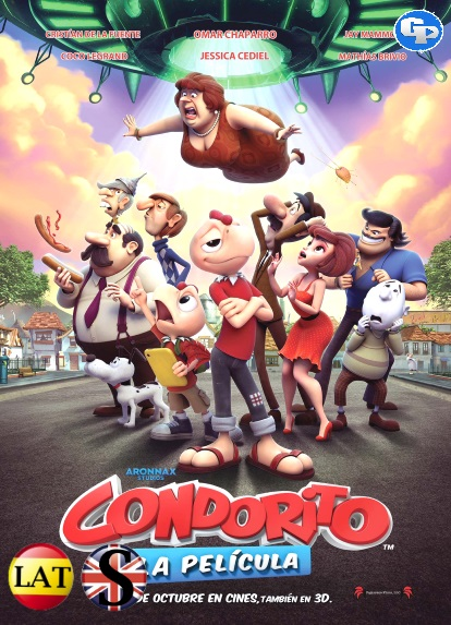 Condorito: La Película (2017) HD 1080P LATINO/INGLES