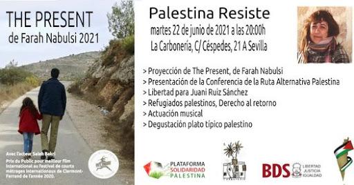 "Jornada ""Palestina Resiste""."