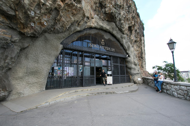 Chiesa nella roccia-Budapest