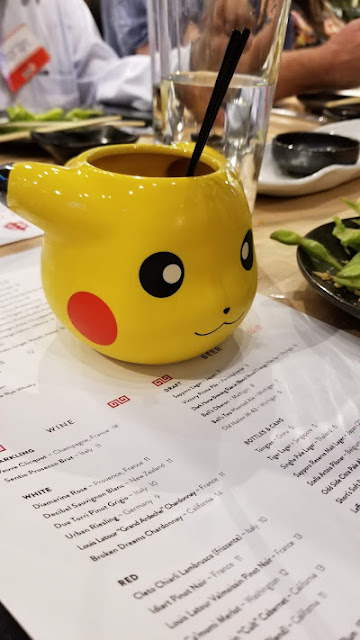 Super cute Pikachu drink at Zao Jun, Bloomfield Twp., MI
