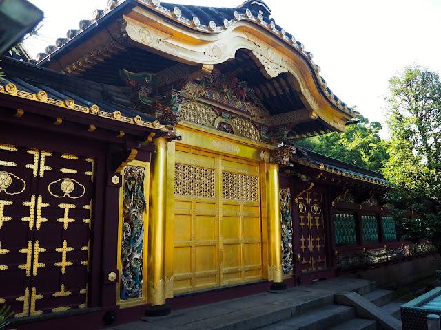 Tosho-gu Shrine in Ueno Park, Tokyo, Japan