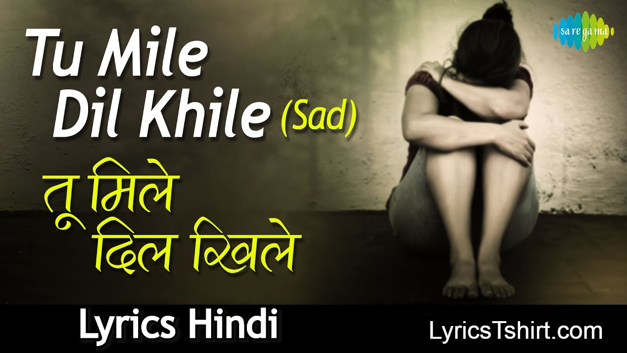 Tu Mile Dil Khile Lyrics in Hindi