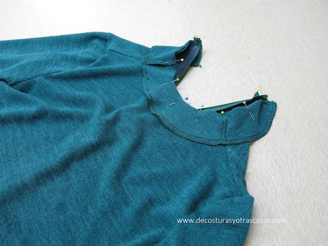 jersey cuello alto incorporado