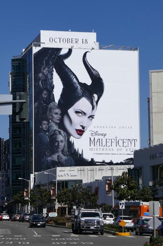 Maleficent Mistress of Evil movie billboard