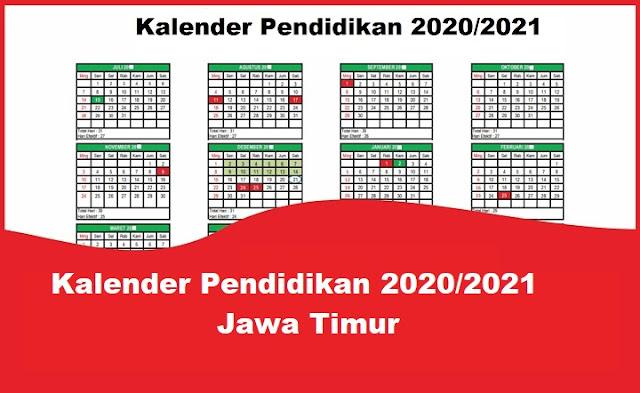 Kalender Pendidikan 2020/2021 Jawa Timur