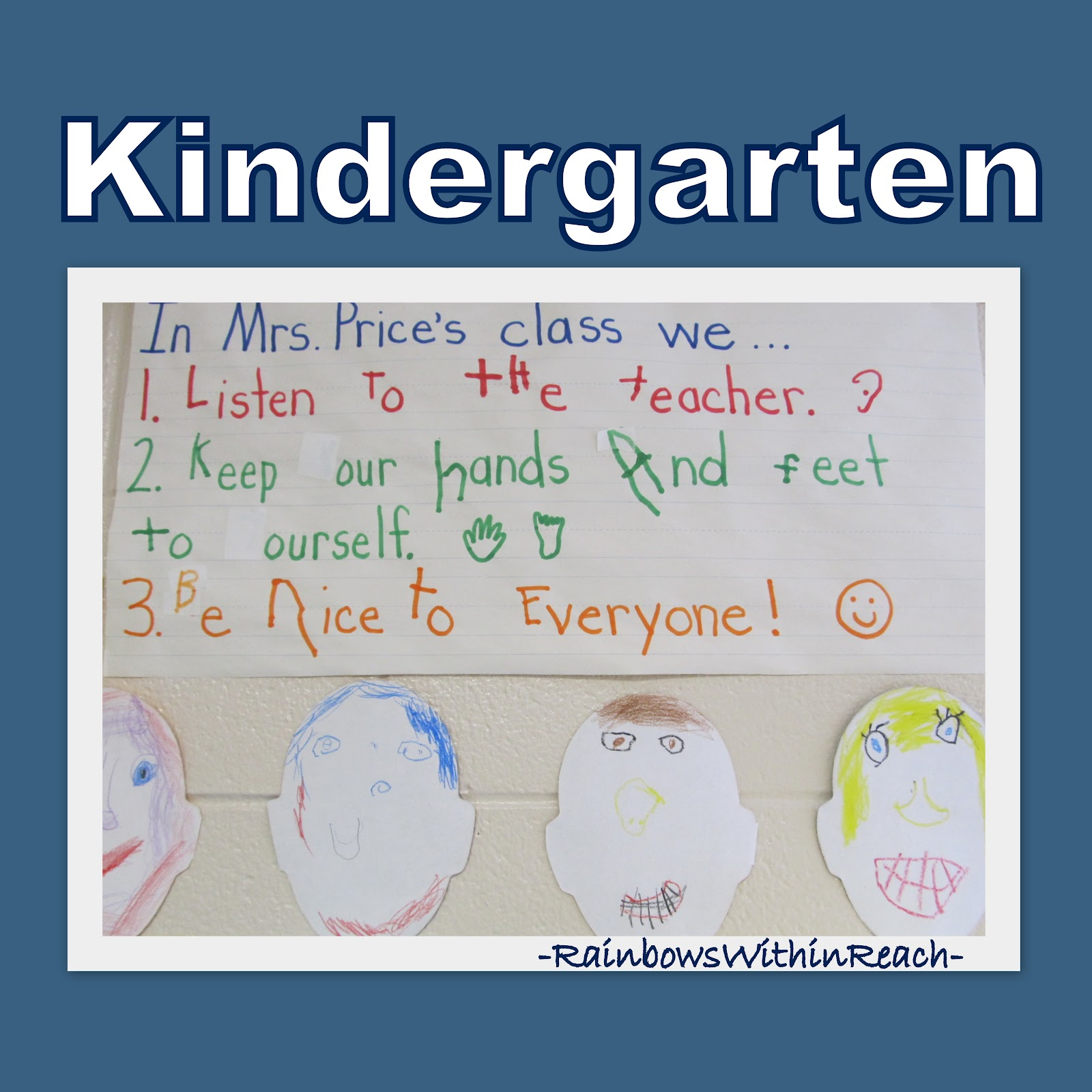 Posted Classroom Rules Fine Motor Drseussprojects