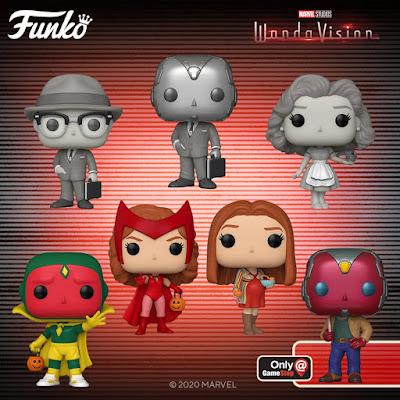 WandaVision Pop! Marvel Vinyl Figures by Funko