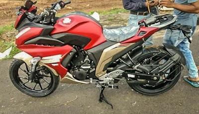 Spyshot Yamaha Fazer 250 India