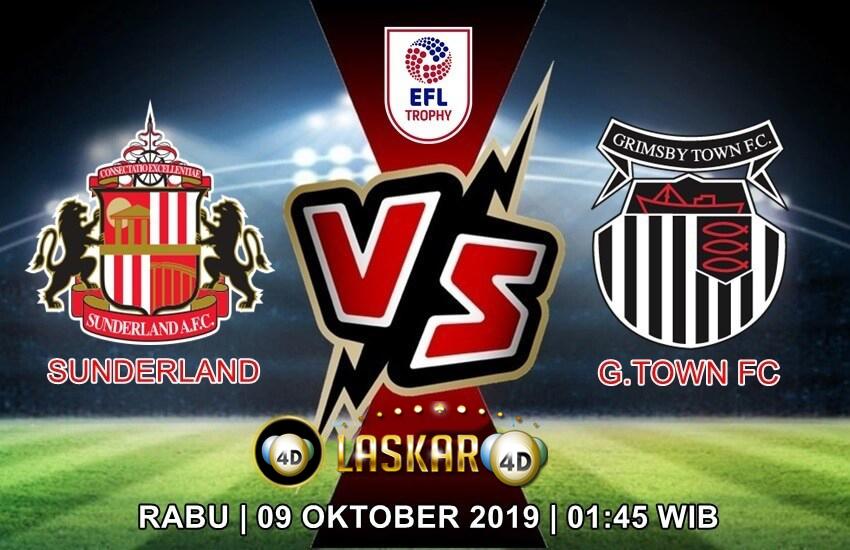 Prediksi Pertandingan Sunderland Vs Grimsby Town 09 Oktober 2019