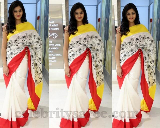 Shamili in Masaba Guptha Saree - Saree Blouse Patterns