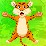 G4K Very Cheerful Tiger Escape