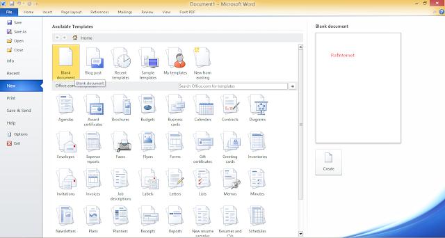 Cara Mengatur Margin di Microsoft Word 2007