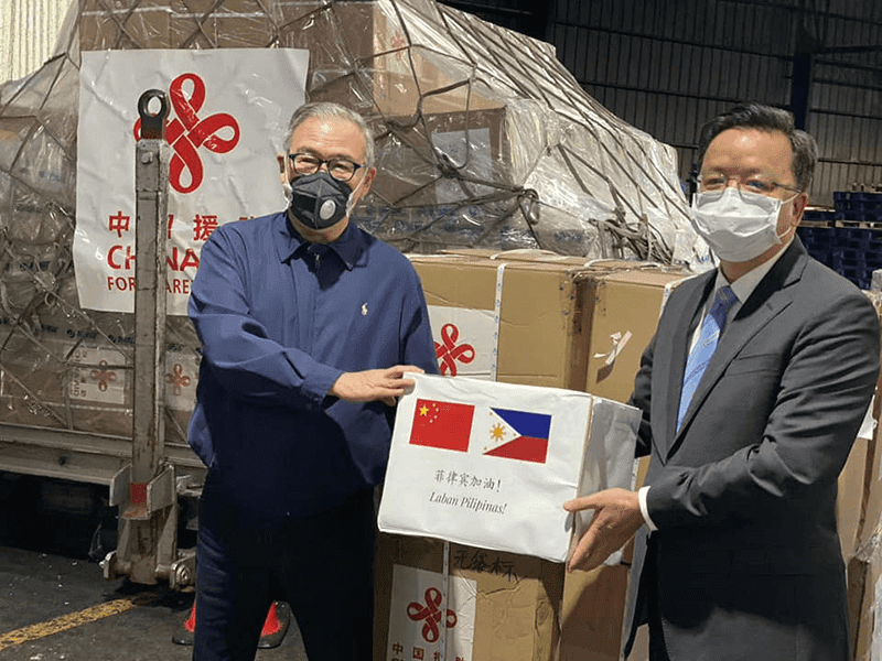 Breaking: China's COVID-19 aid arrives in Manila!