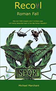 Recoil - Roman Fall action adventure book promotion site Michael Marchant