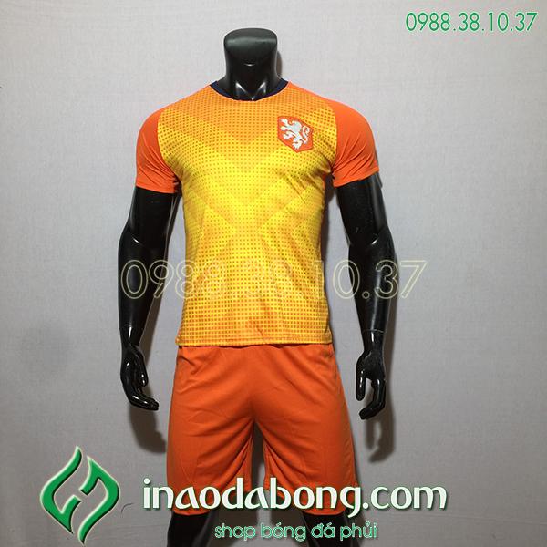 Áo đội tuyển training Hà Lan màu cam 2020