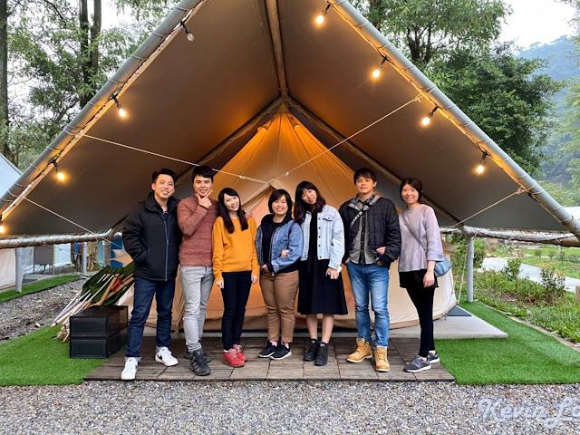 拉波波村營區環境美的帳篷