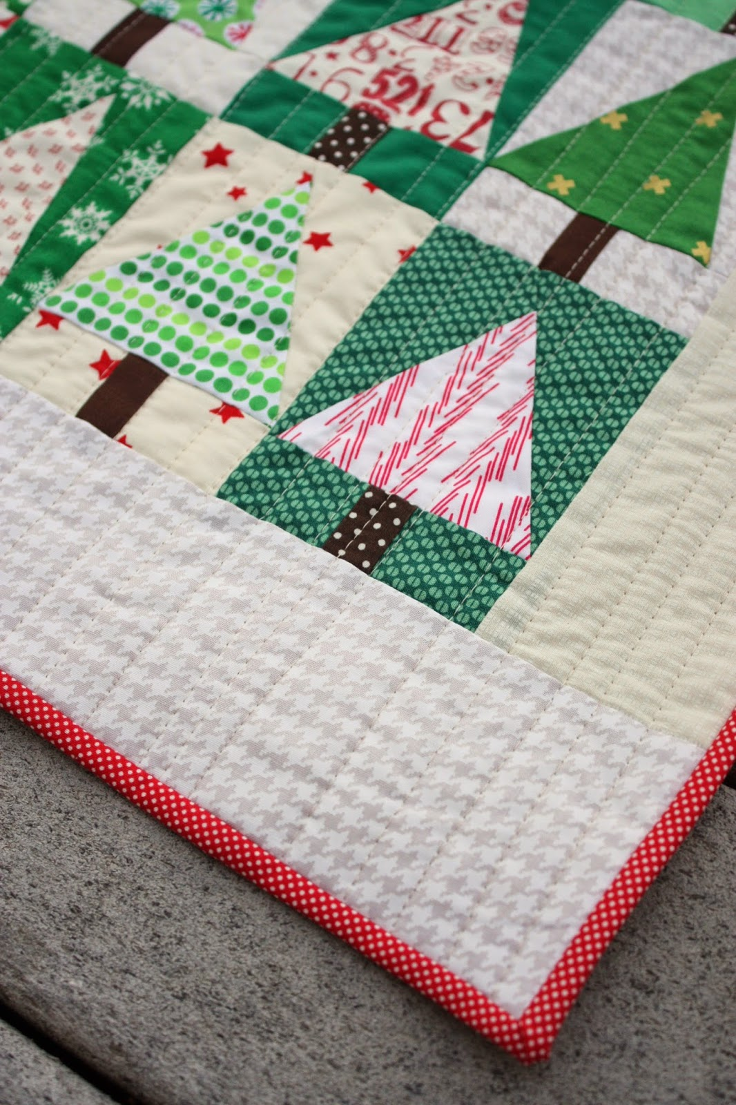 Patchwork Christmas Tree Quilt Blocks | Tutorials | Diary of a Quilter