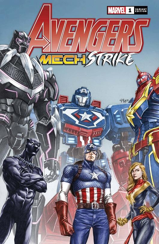 Cover of Avengers Mech Strike #1