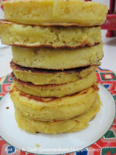 Resep Pancake Labu Kuning dengan Krim Madu JTT