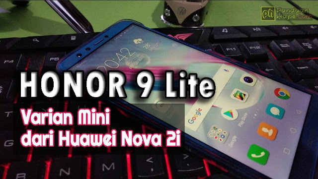 hands on honor 9 lite
