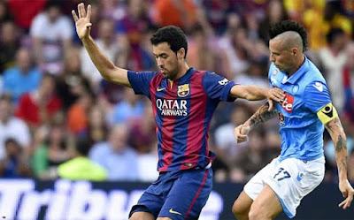 مشاهدة مباراة برشلونة ونابولى