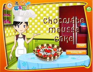 game làm bánh socola dâu tây ngon nhất