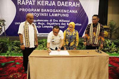 BKKBN Provinsi Lampung Gelar Rakerda Banggakencana