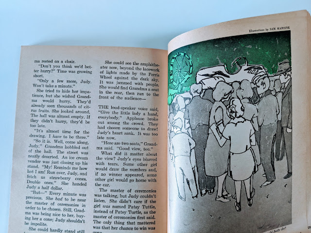 picture of vintage magazine book on white background