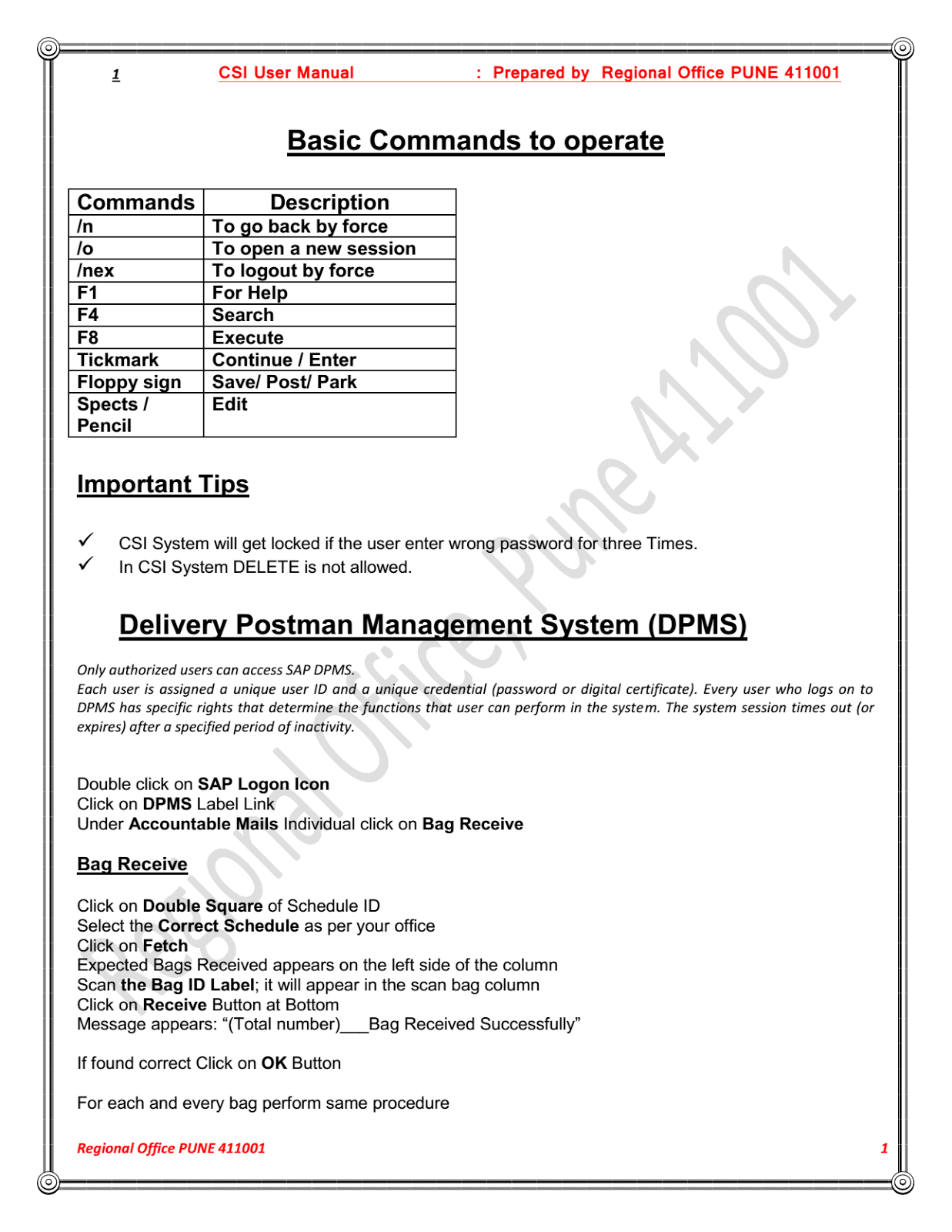 System Administrators Indiapost