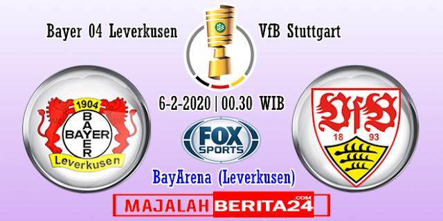 Prediksi Bayer Leverkusen vs Stuttgart — 6 Februari 2020