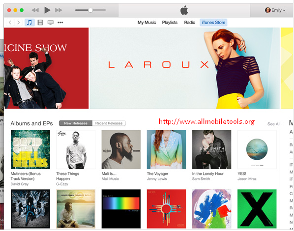 iTunes Latest Version V12.1.2 Free Download