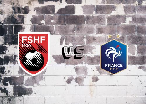 Albania vs Francia  Resumen y Partido Completo