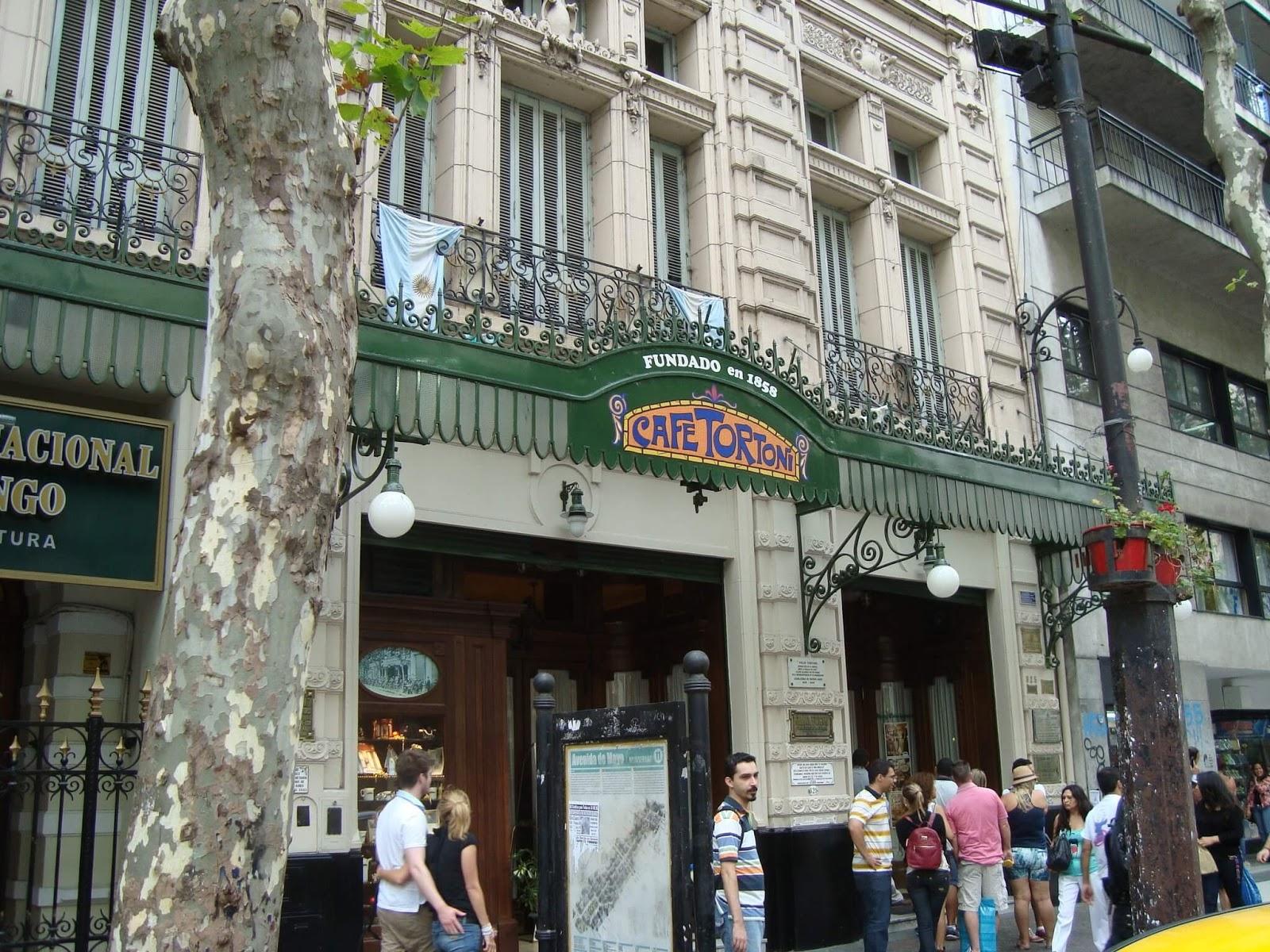 Onde Comer em Buenos Aires - Cafés e Sorveterias