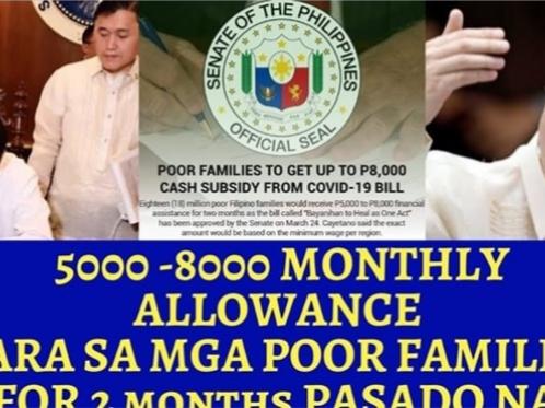 WATCH: Bukod sa P5k Cash Assistance, may Additional pang P8k na pamigay ng Duterte Admin
