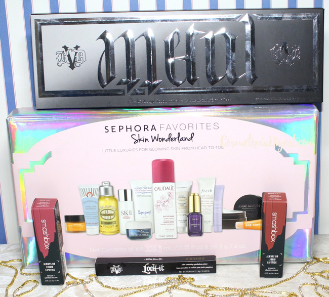 Year-End Sephora Makeup Haul