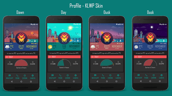 KLWP Android App 2019