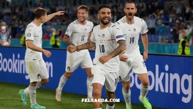 التشكيل الرسمي لمباراة إيطاليا وويلز يورو 2020
