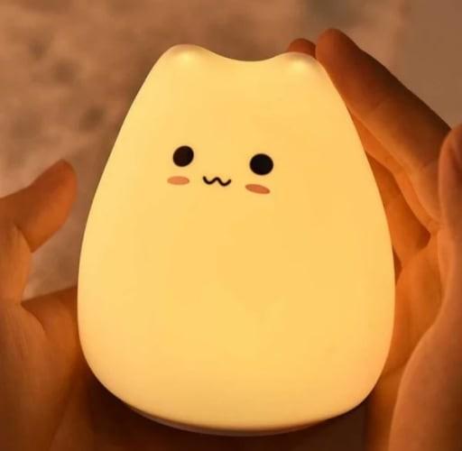 Lampu Nakas Little Cat Silicon Light