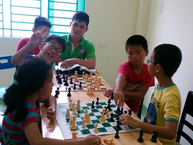 Kết quả hình ảnh cho học cờ vua