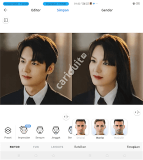 Tutorial Aplikasi Oplas Face App yang wajib anda Coba