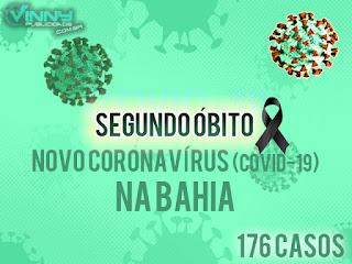 Segundo óbito pelo Coronavírus